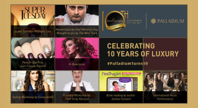 Celebrating 10 years of Luxury #PalladiumTurns10