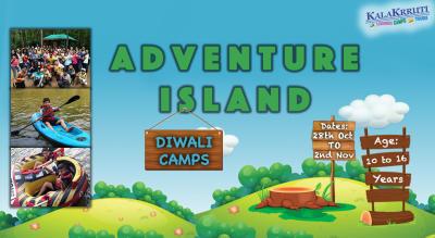 Diwali Camp for Kids : Adventure Island, Karnataka