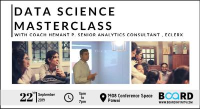 Board Infinity | Data Science Masterclass | A Deep Dive Into Data Science & Machine Learning