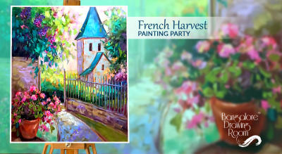 French Harvest Painting Party by Bangalore Drawing Room