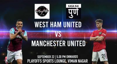 West Ham United vs Manchester United, Pune