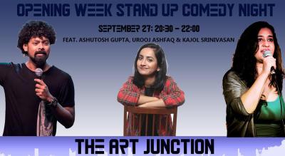 The Art Junction Opening Week Feat. Ashutosh, Urooj & Kajol