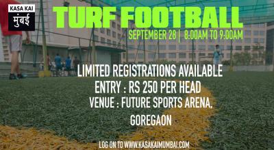 Turf Football At Future Sports Arena, Goregoan