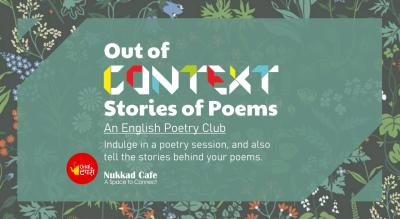Out of Context - An English Poetry Club - Baner