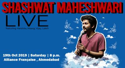 Shashwat Maheshwari Live in Ahmedabad