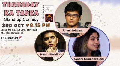 Thursday ka Tadka - Stand up Comedy