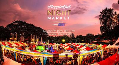 Times Prime: SteppinOut Night Market, Bangalore