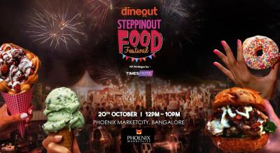 Times Prime: SteppinOut Food Festival, Bangalore