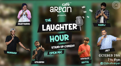 The Laughter Hour @ Cafe Arpan