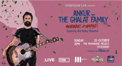 Ankur and The Ghalat Family (Trio) | Hyderabad