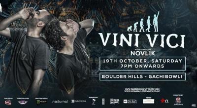 Vini Vici Live in Hyderabad