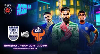 Hero Indian Super League 2019-20: Mumbai City FC vs FC Goa