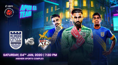 HERO Indian Super League 2019-20: Mumbai City FC vs ATK