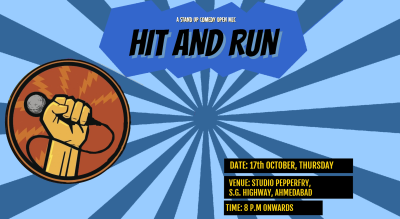 Hit&Run 70.0 - Stand-up comedy open mic
