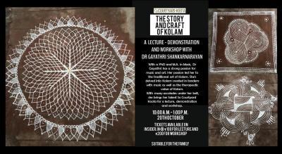 The Story and Craft of Kolam with Dr Gayathri Shankarnarayan