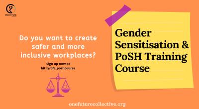 Gender Sensitisation & PoSH Training Course