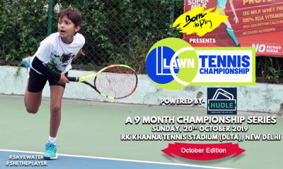 Born To Play Lawn Tennis Championship- October '19 Edition