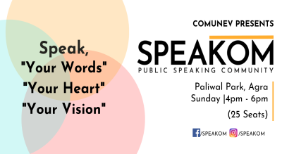 Speakom Agra - Public Speaking Community