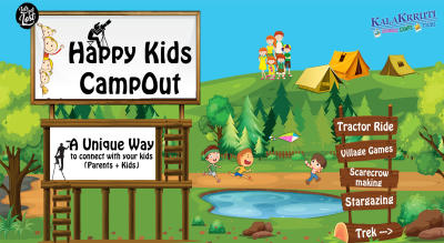 Happy Kids CampOut : Camping with your kids