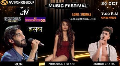 AV Fashion Group Music Festival