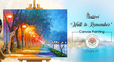 'Walk to remember canvas painting party by Paintology