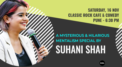 Mentalism Special by Suhani Shah: Pune