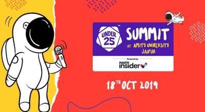 Under 25 Summit at Amity University | Jaipur