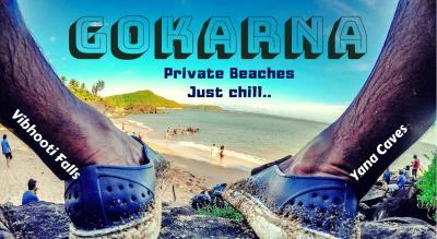 Gokarna Chill, Private Beach Trek, Vibhooti Waterfalls, Yana Caves | Muddie Trails