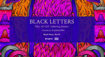 Black Letters Album Listening Session at Nosh Haus | Overfeed Records