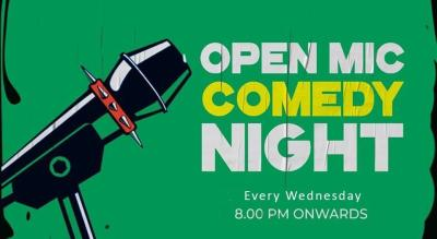 Stand-Up Comedy Open Mic Night!