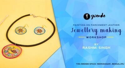 Leather Jewellery Making Workshop by Rashmi