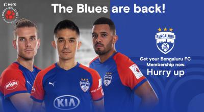 HERO ISL 2019 - 20 : Bengaluru FC Membership