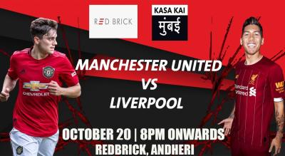 Manchester United vs Liverpool At Redbrick, Andheri