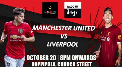 Manchester United vs Liverpool At Hoppipola, Church street