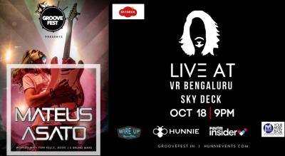 Groove Fest Mateus Asato live