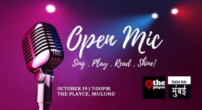 Open Mic At The Playce, Mulund
