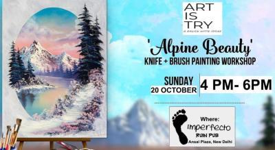 Alpine Beauty Knife + Brush Painting Workshop