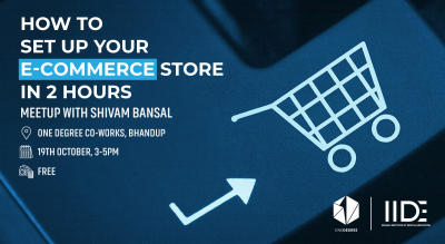 How to setup your E-commerce store in two hours