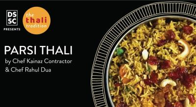 Parsi Thali by Chef Kainaz Contractor & Rahul Dua @ The Thali Tradition