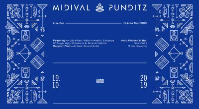Midival Punditz - Nukhta Tour (LIVE) : New Delhi