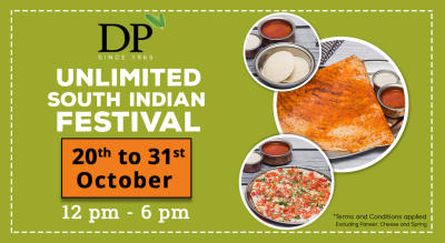 UNLIMITED SOUTH INDIAN FOOD FESTIVAL