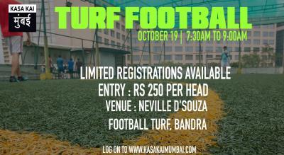 Turf Football At Neville D'souza Turf Football Ground, Bandra