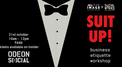 Suit Up! Business Etiquette Workshop At Odeon Social