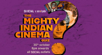 The Mighty Indian Cinema Quiz: Nehru Place Social