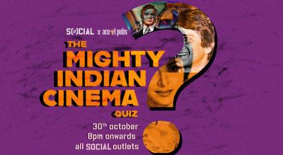 The Mighty Indian Cinema Quiz: Viman Nagar Social