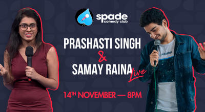 Prashasti Singh and Samay Raina - Live in Pune!