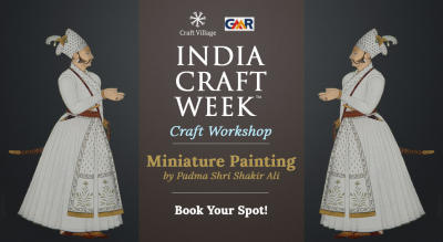 Miniature Painting Workshop | India Craft Week 2019