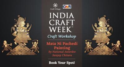 Mata Ni Pachedi Painting Workshop | India Craft Week 2019