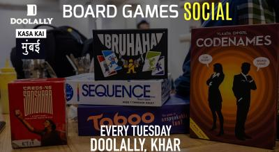 Board Games Social At Doolally, Khar