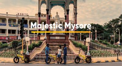 B:Live E-Bike Tours- Majestic Mysore